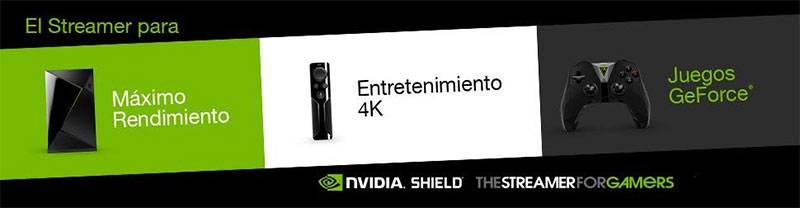 Reproductor Multimedia Nvidia Shield TV